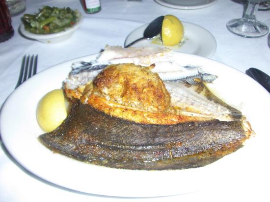 Mary Mahoney's Old French House: Stuffed Flounder