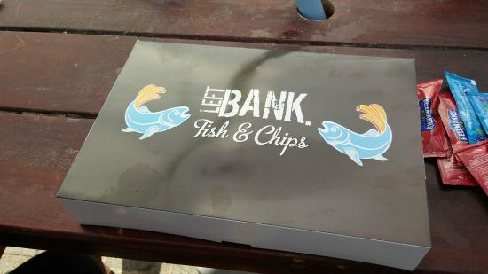 Left Bank Souk Al Bahar : the amzing fish and chips