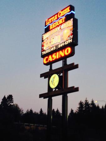 Little Creek Casino Resort: Insegna