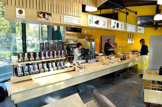 Le comptoir photo de le kiosque par la grange besan on tripadvisor - Restaurant la grange besancon ...