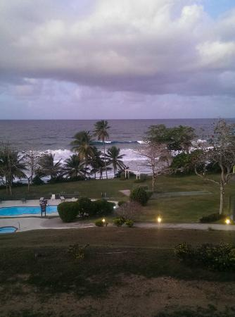 Hotel El Guajataca: View from the room.