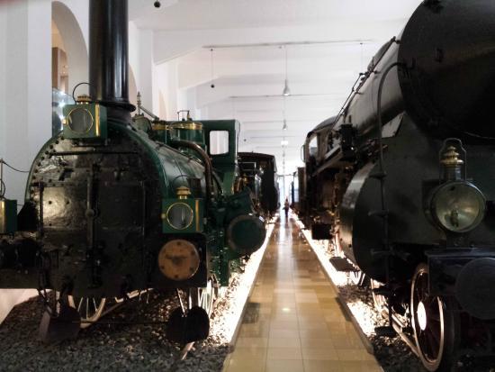 DB Museum (German Railway Museum): trains