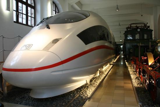 DB Museum (German Railway Museum): ICE
