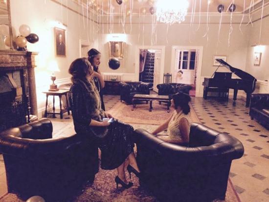 Shapwick, UK: Birthday Soiree at Shapwick House