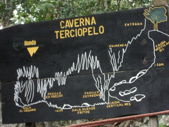 Barra Honda National Park: Descripción de la caverna