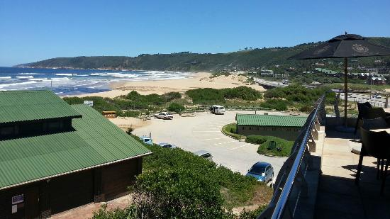 L'Heritage Retreat: View of Beach from nearby Salina's Beach Restaurant