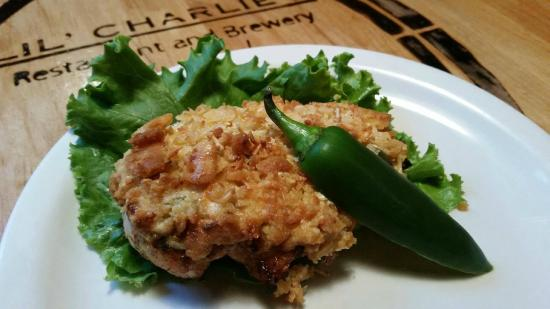 LiL' Charlies Restaurant and Brewery: Jalapeno Stuffed Chicken
