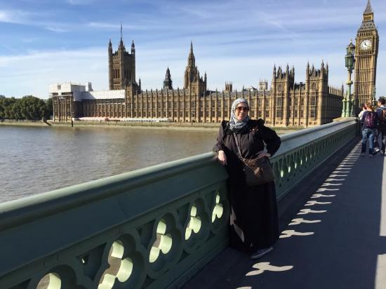 Premier Inn London Tower Bridge Hotel: Me and Big Ben