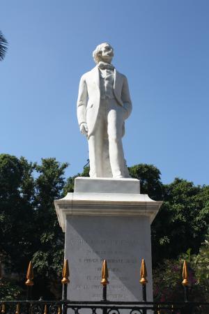 Statue of Carlos Manuel de Cespedes