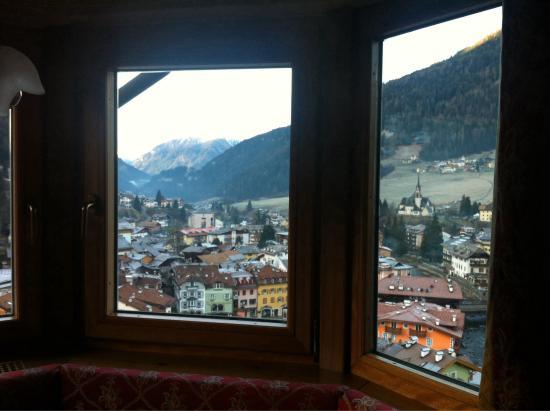 Hotel Catinaccio Rosengarten: Camera vista spettacolare :)