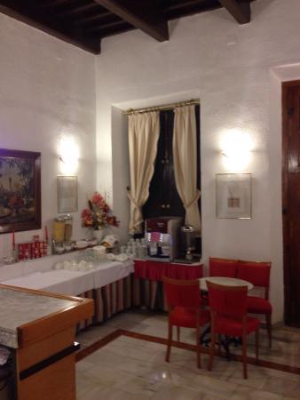 Hotel Anacapri: Area del desayuno