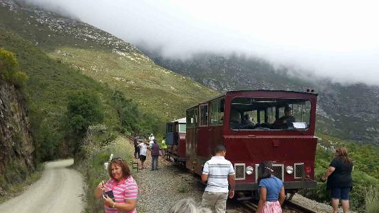 L'Heritage Retreat : Take a trip on Outeniqua Power Van's railbus