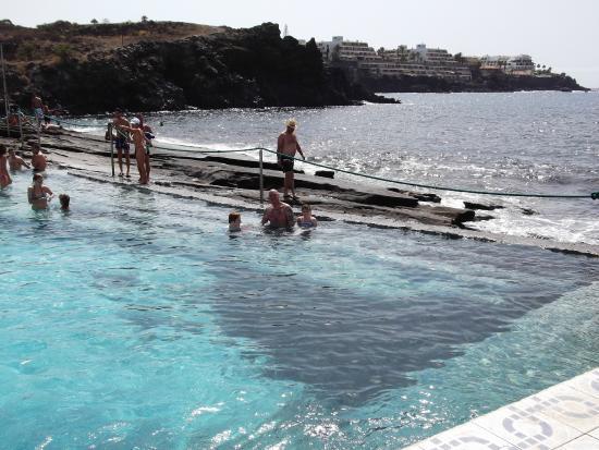 Costa del Silencio, Espagne : poolside