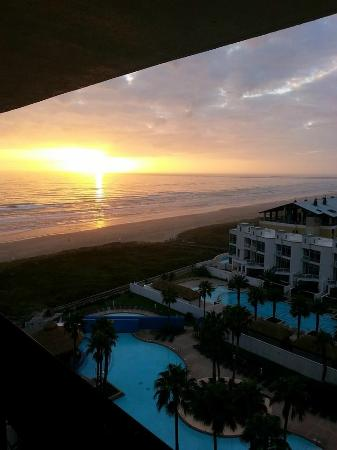 Pearl South Padre: Our view of the morning sunrise