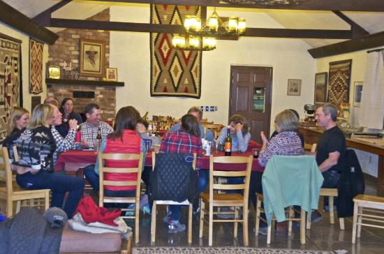 Elkhorn Ranch: After dinner camaraderie