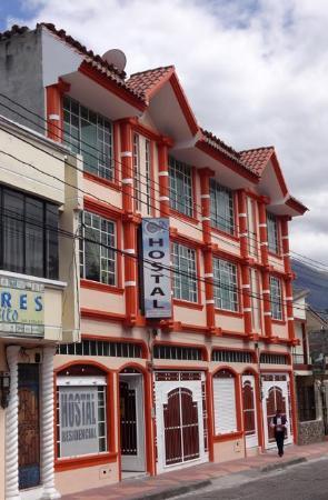 La Cuadra Hotel: Front of Hostal La Cuadra