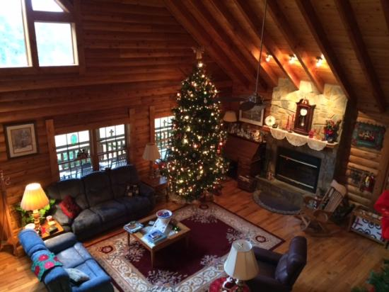 Glade Valley, NC: Great Room