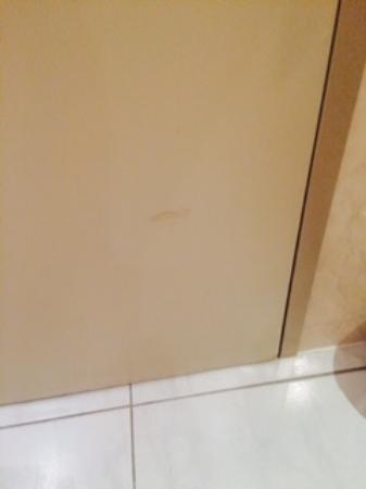 Mercure Cardiff Holland House Hotel and Spa: Scuffed walls