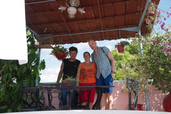 Casa Reinaldo y Yurisa: Reinaldo, Yurisa y yo