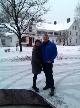 Quechee Inn At Marshland Farm: Heading in to start a great weekend !