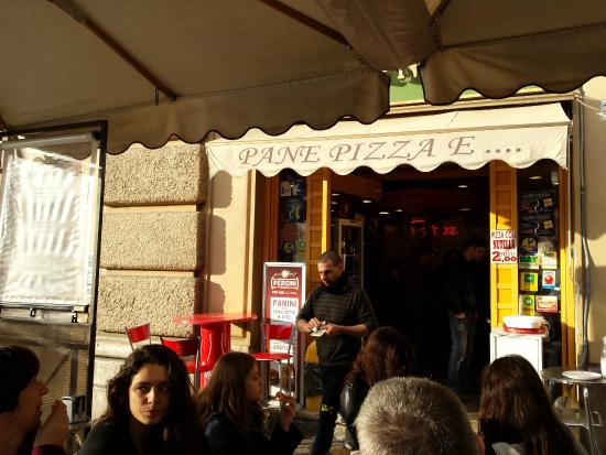 tavoli - Foto di Pizza E Natura, Roma - TripAdvisor