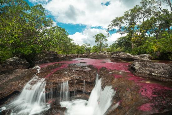 La Macarena, Colombia: Sector derecho del río