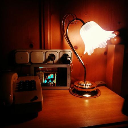 Hotel Luitpold: Cute lamp