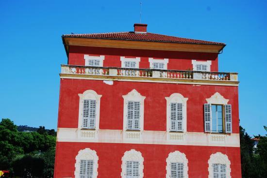 Musee Archeologique de Nice-Cimiez : Façade