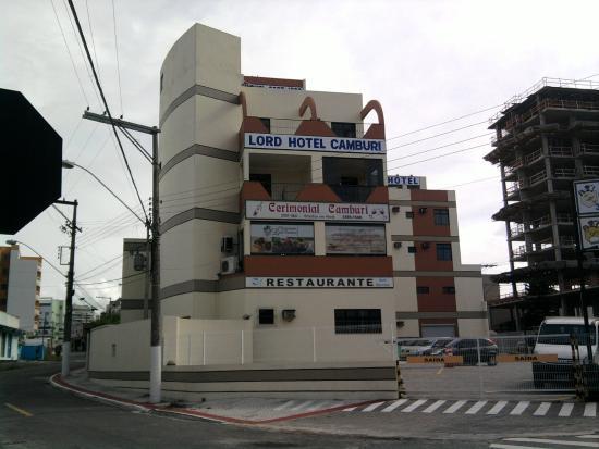 Lord Hotel Camburi: Fachada