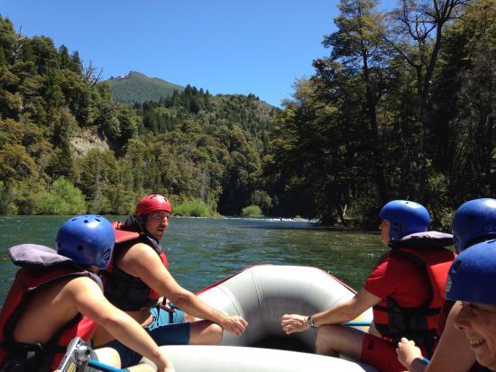 Aguas Blancas Rafting: Río manso
