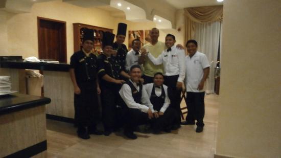 TRS Yucatan by Palladium: personal del restaurante el Jardín