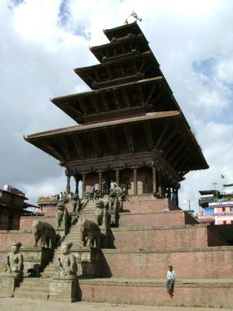 Nyatapola Temple: Бхактапур, храм Ньятапола