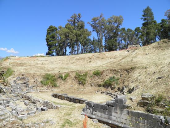 Acropolis and Ancient Theater : Acropolis of Sparta, Theatre