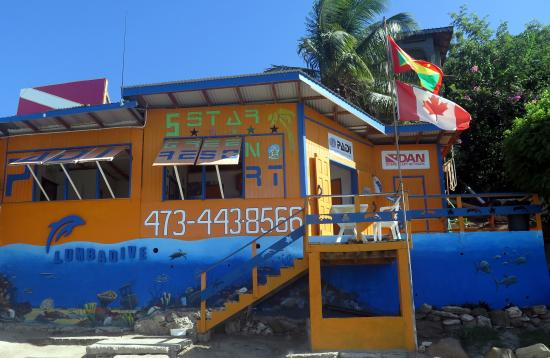 Carriacou Island, Grenada: Our Building