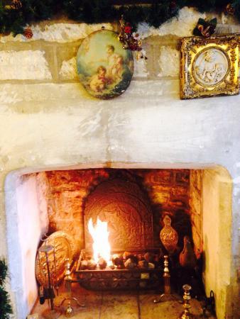Bridge Tea Rooms: Fireplace