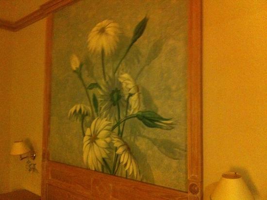 Hotel De La Ville : stanza