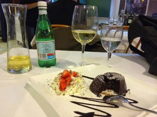 Le Lanterne - Chocolate with a Warm Heart Dessert