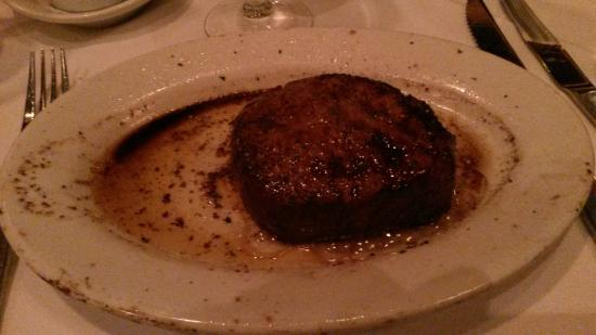 Ruth's Chris Steak House: Filet mignon da Ruth