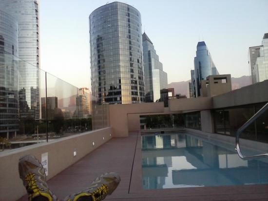 Hotel Los Espanoles Plus: Vista desde pileta (muy lindo!)