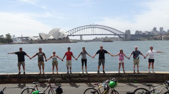 Bike Buffs - Sydney Bicycle Tours: Mrs Macquaries Point
