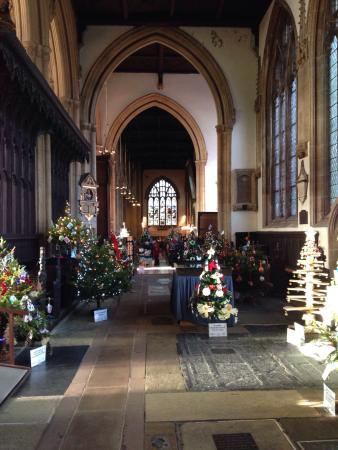 Christmas tree festival - Beautiful! - Picture of St Mary ...