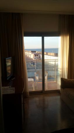 Hotel Port Sitges: El salón