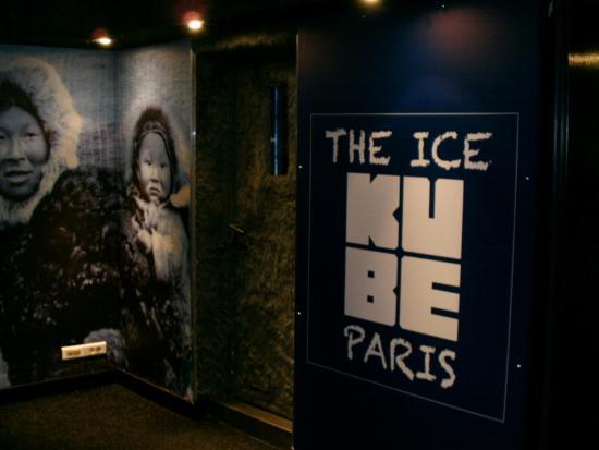 Kube Hotel : The Ice Bar