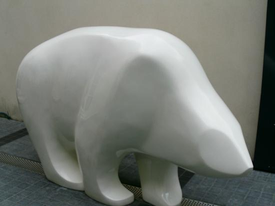 Kube Hotel : The polar bear