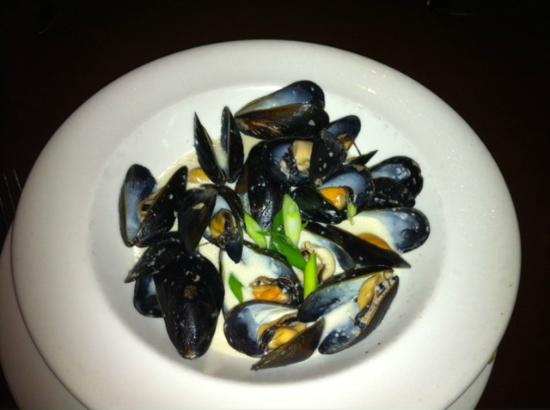 Wildfire Steakhouse North York : Mussels in wine sauce