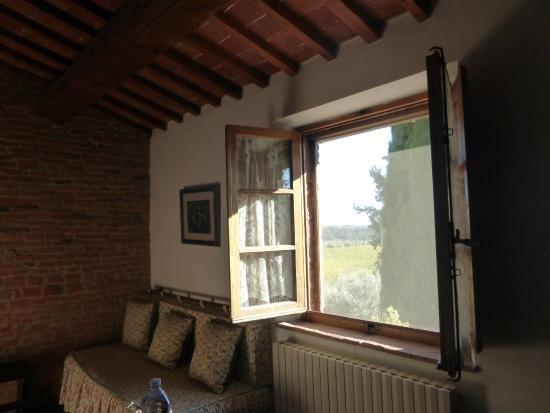 La Casa delle Querce: View from living room window