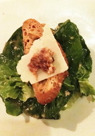Wildfish Seafood Grille : Classic Caesar Salad (shaved parmesan, garlic croutons and tapenade)