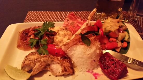 Bombay Chopsticks: Grilled Seafood Combination