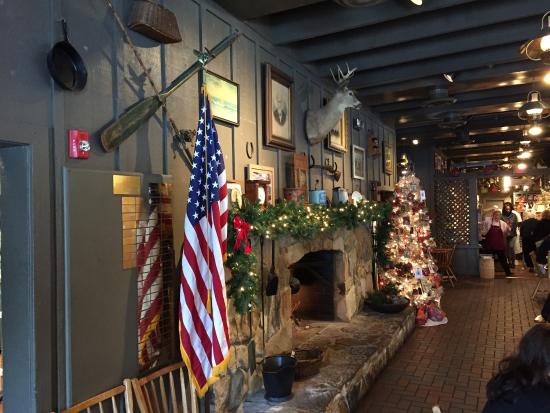 cracker barrell all decked out for christmas 2014 cracker barrel