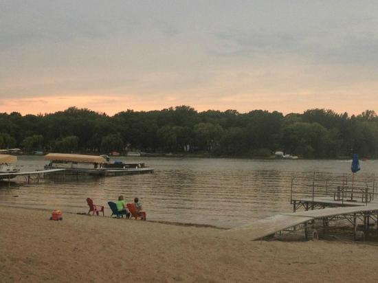 Milton, WI: view of the beach